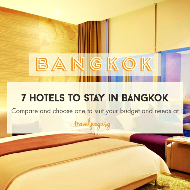 7 Convenient Hotels to Stay in Bangkok