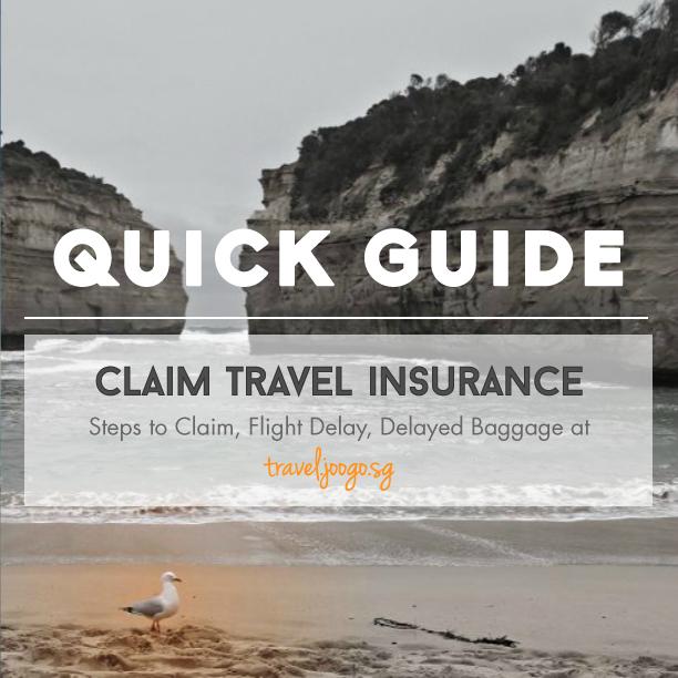 Claim Travel Insurance -travel.joogo.sg