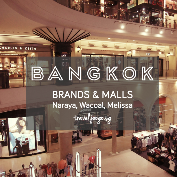 Shop Brands and Malls in Bangkok