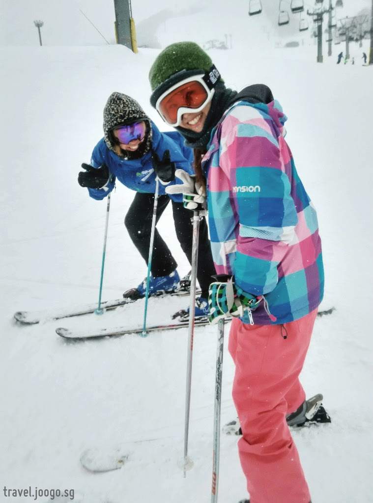 First Timer: Skiing at Niseko