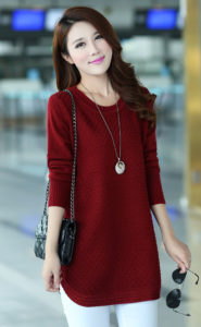 Red Woolen Top 1