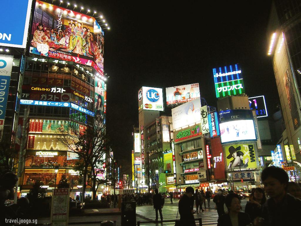 From Harajuku's Cat Street to Shibuya