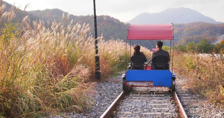 About Gangchon Rail Park