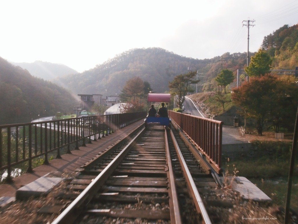 Gangchon Rail Bike Review