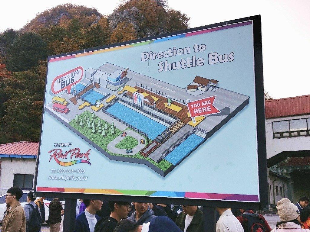 Gangchon Rail Bike Park Shuttle Bus