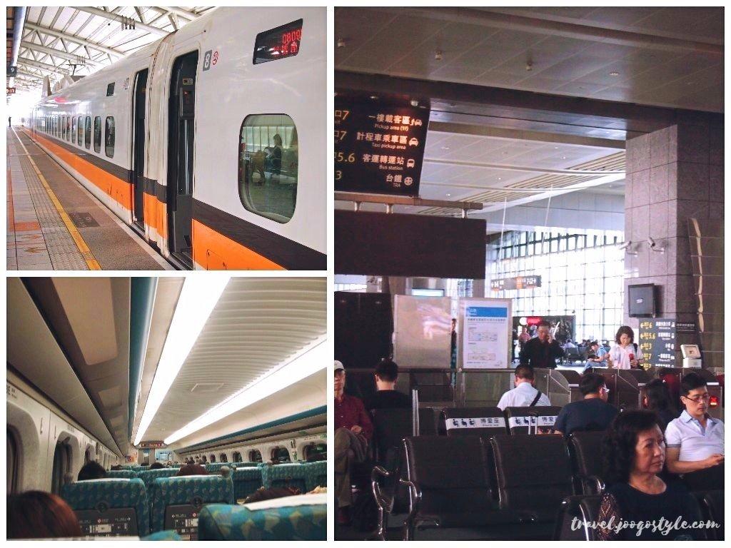 Train from Taipei to Taichung