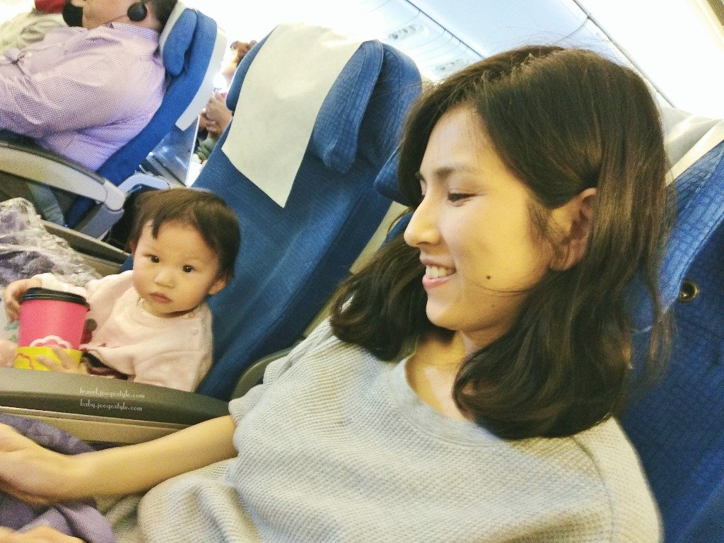 Flying Korean Air Economy with a Toddler